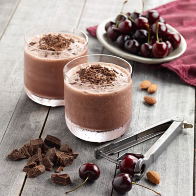 Black Forest Smoothie Food Styling