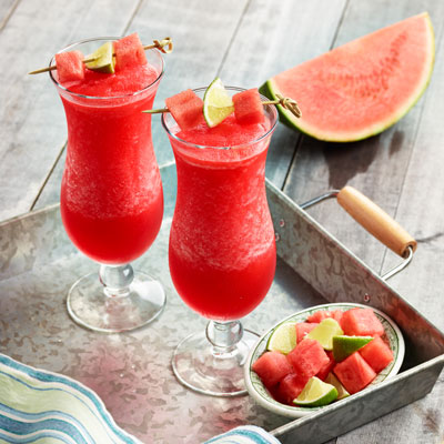 Watermelon Smoothie Food Styling