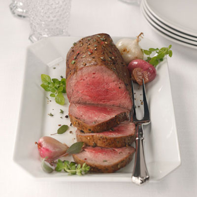 chateaubriand food styling