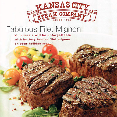 Kansas City Steak Food Styling