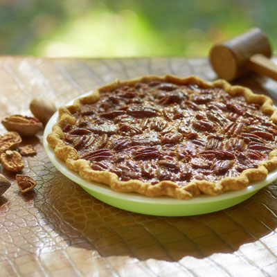 pecan pie food styling