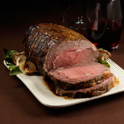 prime rib food styling