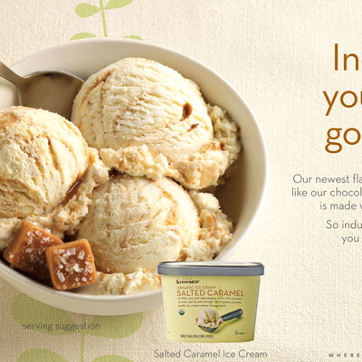 Publix Ice Cream Food Styling