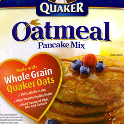 Quaker Oatmeal Food Styling